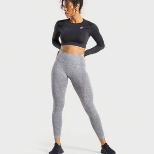NWT Gymshark Vital Seamless Leggings, Gray